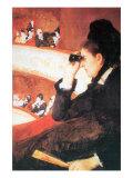 In The Opera Posters por Mary Cassatt