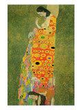 Abandoned Hope Giclée-Premiumdruck von Gustav Klimt