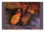 Apair of Shoes Plakat av Vincent van Gogh