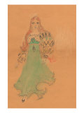 Flamenco Dancer Art by Norma Kramer
