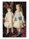 The Girls Cahen D'Anvers Plakater af Pierre-Auguste Renoir