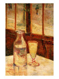 The Still Life with Absinthe Poster por Vincent van Gogh