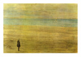 Harmony In Blue and Silver - Trouville Plakater af James Abbott McNeill Whistler