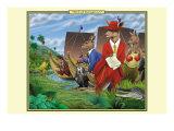 Mob of Kangaroos Prints by Richard Kelly