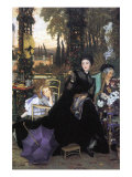 A Widow Posters by James Tissot