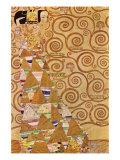 Anticipation Print by Gustav Klimt