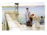 A Kiss Pósters por Sir Lawrence Alma-Tadema
