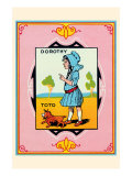 Dorothy and Toto Prints by John R. Neill