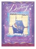 Destiny Written in the Stars Giclée-Druck von Flavia Weedn