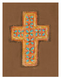Tiny Cross Giclee Print by Flavia Weedn