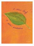 A New Leaf Giclée-Druck von Flavia Weedn