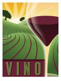 Vino Lámina giclée