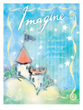 Imagine and Dare to Dream Lámina giclée por Flavia Weedn