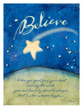 Believe in Miracles Giclee Print by Flavia Weedn