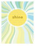 Shine II Giclée-Druck