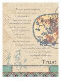 Trust– Blindes Vertrauen Giclée-Druck