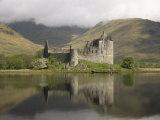 Kilchurn Castle, Near Loch Awe, Highlands, Scotland, United Kingdom, Europe Photographic Print by Richard Maschmeyer
