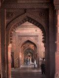 Fatehpur Sikri, UNESCO World Heritage Site, Uttar Pradesh, India Lámina fotográfica por Balan Madhavan