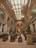 Egyptian Museum, Cairo, Egypt, North Africa, Africa Fotoprint van Michael DeFreitas