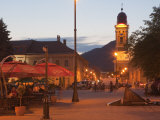 Podol Viilor Street and Libertatii Square, Baia Mare, Maramures, Romania, Europe Photographic Print by Marco Cristofori