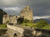 Eilean Donnan Castle, Near Dornie, Highlands, Scotland, United Kingdom, Europe Stretched Canvas Print by Richard Maschmeyer