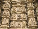 Kandariya Mahadeva Temple, Largest of the Chandela Temples, Khajuraho, Madhya Pradesh State, India Reproduction photographique par Tony Waltham