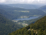 Vosges Mountains Seen from around Col De Schlucht, Alsace, France, Europe Photographic Print by Yadid Levy