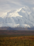 Mount Mckinley (Mount Denali), Denali National Park and Preserve, Alaska, United States of America Photographic Print by James Hager