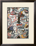 Hourloupe, 1963 Posters por Jean Dubuffet