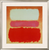 White Cloud over Purple Prints by Mark Rothko