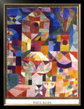 Garden View Prints by Paul Klee