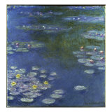 Waterlilies, 1908 Giclee Print by Claude Monet