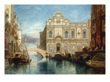 Scuola di San Marco, Venice, 1860 Giclée-tryk af James Holland