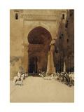 The Gate of Justice, 1890 Giclée-tryk af Arthur Melville