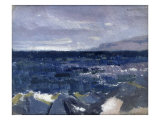 Treshnish Point from Iona Giclee Print by Francis Campbell Cadell
