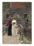 A Wistful Glance, 1897 Giclee Print by Edmund Blair Leighton