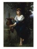 At the Well Giclee-trykk av Elizabeth Bouguereau