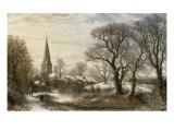 Walgrave, Northamptonshire, 1876 Reproduction procédé giclée par Charles Leaver