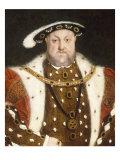 Portrait d'Henry VIII Reproduction procédé giclée par Hans Holbein the Younger