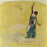 Danseuse Gicléetryck av Ferdinand Hodler
