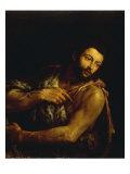St John the Baptist Giclée-vedos tekijänä Leandro Da Ponte Bassano