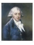 Richard Brindsley Sheradin 1751-1816 (Playwright), 1794 Giclee Print by John Russell
