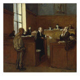 A Plea for Mercy Giclee Print by Jean Louis Forain
