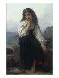 The Lute Player Giclee-trykk av Elizabeth Bouguereau