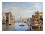 The Grand Canal, Venice, 1847 Giclee Print by Salomon Corrodi