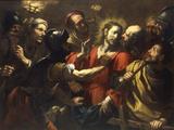 The Betrayal of Christ Giclée-tryk af Antonio Zanchi