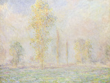 La Prairie a Giverny, 1888 Giclee Print by Claude Monet