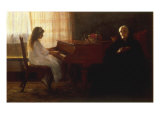 The Two Generations Giclee Print by John Henry Frederick Bacon
