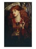 The Damsel of the Sanct Grail, 1874 Giclee Print by Dante Gabriel Rossetti