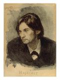 The Marxist Giclee Print by Ilia Efimovich Repin